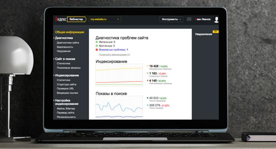 Яндекс.Вебмастер / (Yandex.Webmaster)